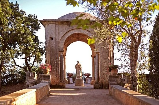 Villa Cimbrone in Ravello and Amalfi...
