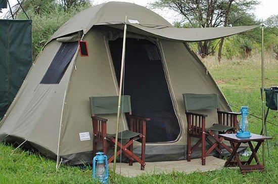 チョベ国立公園キャンピングサファリビクトリアフォールズ(3泊2日)