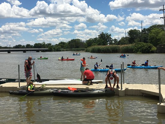 Portage River Paddling Company: A day on the Portage River in Oak Harbor, Ohio!