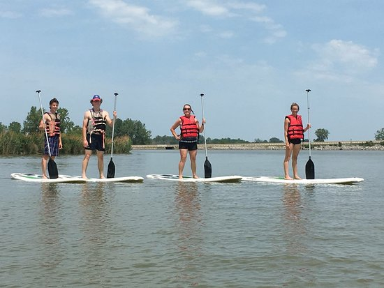 Stand Up Paddleboard Rentals In Port Clinton, Ohio & Oak Harbor, Ohio