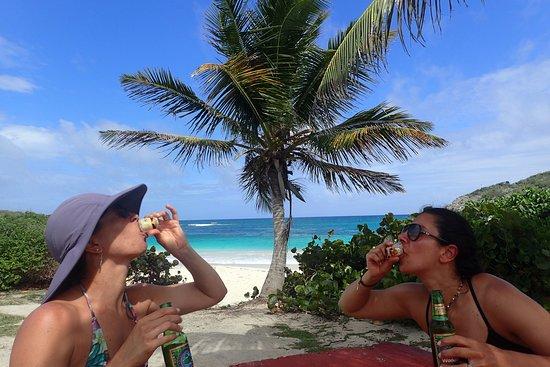 Beach Bum Bar and Grill: Souvenir shots!