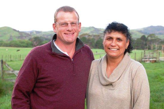 Whareama, نيوزيلندا: Dick & Carmen your hosts!