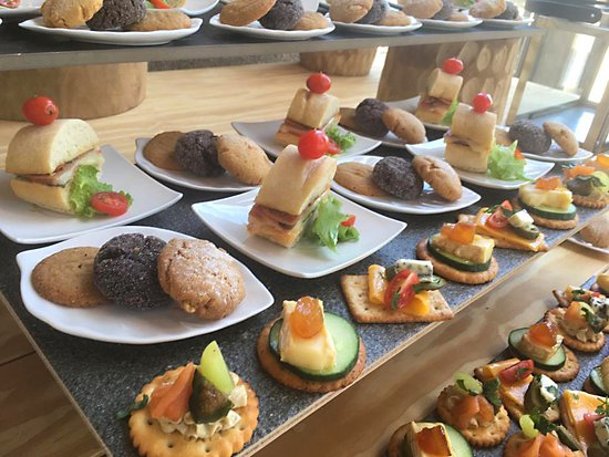 Lephalale, South Africa: Scrumptious canapés for conference breaks