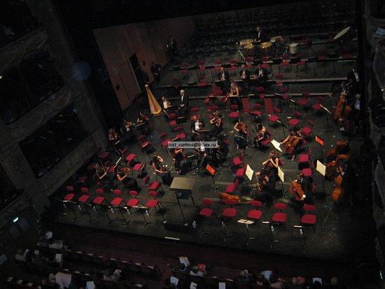 Opera de Nice: Opéra de Nice - orchestra on stage