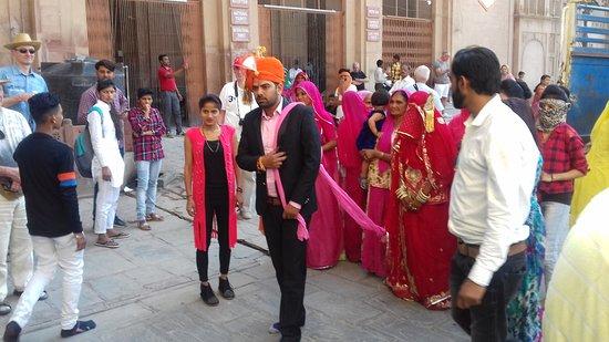 Hochzeitszeremonie Im Fort Picture Of Junagarh Fort Bikaner