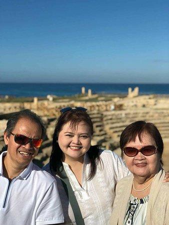 Arik Private Tours In Israel: At Cesarea