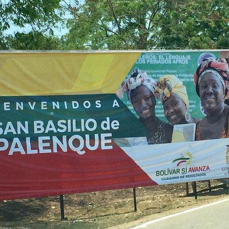 San Basilio De Palenque, Colombia: Monumento a Benkos Biohò