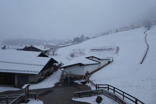 Trins, Austria: Blick vom Balkon