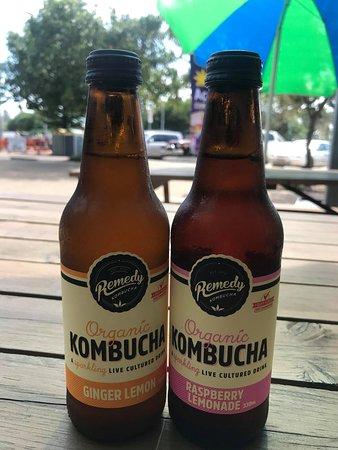 Coolum Beach, Australia: Kombucha Now Available in Store