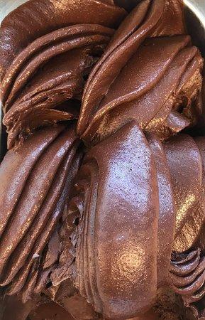 Coolum Beach, Australia: Vegan Chocolate Sorbet!