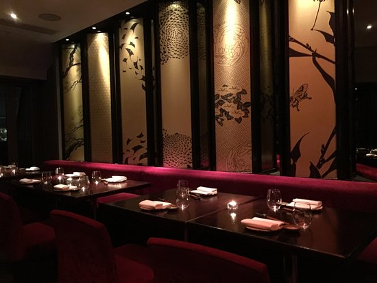 mooi Japans interieur. - Picture of Aqua Kyoto, London - TripAdvisor
