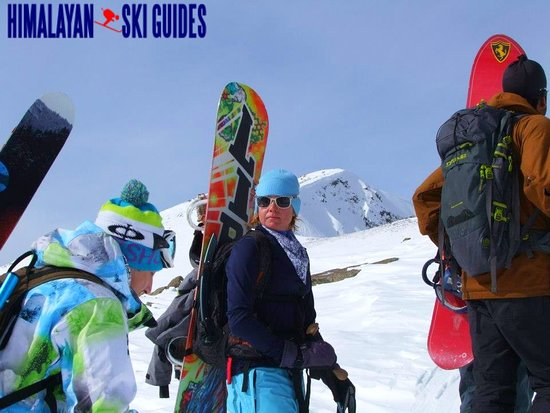 Himalayan Ski Guides: Skiing and snowboarding with our clients