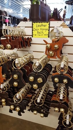 Millersburg, OH: Door bells in a variety of animal shapes