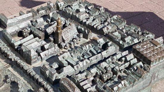 Bronzemodell Altstadt