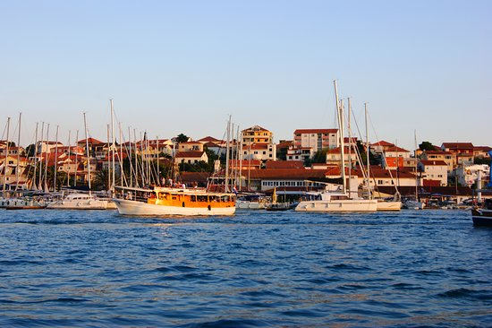 Arbanija, Croatia: by the way to Trogir