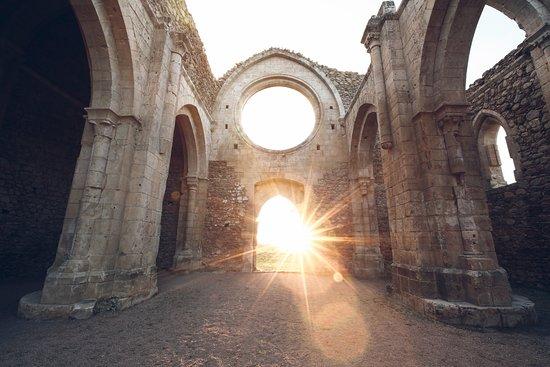 Collado Hermoso, İspanya: Monasterio de Santa María de la Sierra.