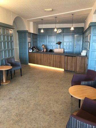 Marina Hotel: Our New Reception Area