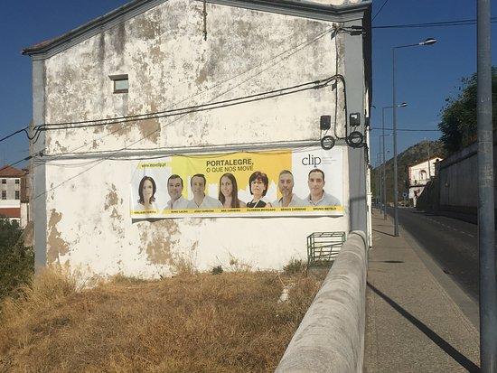 Portalegre, Portugal: Edifício sede do Sindicato dos Operários Corticeiros