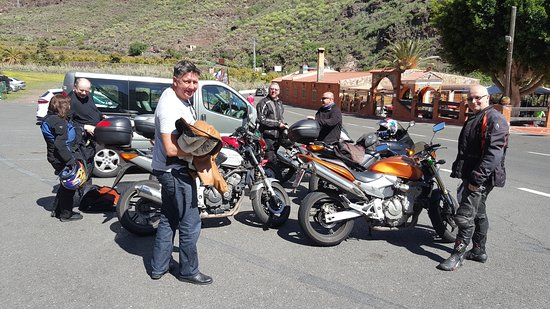 the crew picture of canary motorcycle tours vecindario tripadvisor. Black Bedroom Furniture Sets. Home Design Ideas