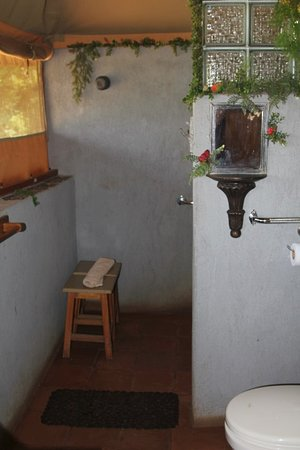 Meru National Park, Kenia: Shower area but had hot water issues during my stay