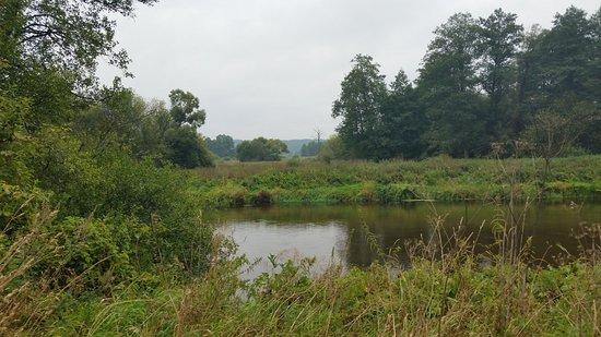 Merkine, Lithuania: L'omonimo fiume
