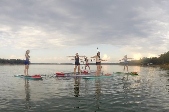 Hartwell, GA: SUP Yoga