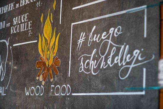 FUEGO Steakhouse: Neue Wandbemalung Mit Hashtag: #fuegoschindellegi