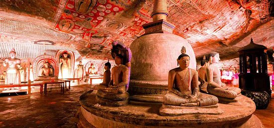Kandalama, Sri Lanka: Dambulla Cave Temple