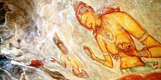 Kandalama, Sri Lanka: Sigiriya Ancient Wall Paintings