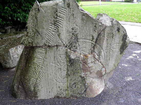 Loanhead of Daviot Stone Circle: La pierre picte d'inverurie