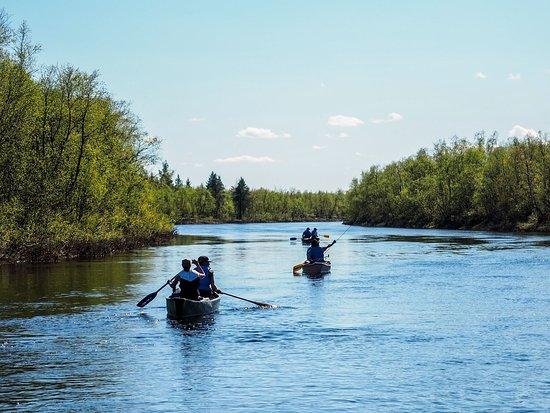 Muonionalusta, Swedia: Arctic Canoe Route