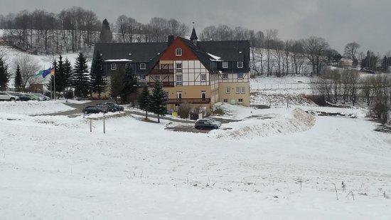 Foto de Panorama Berghotel Wettiner Hoehe