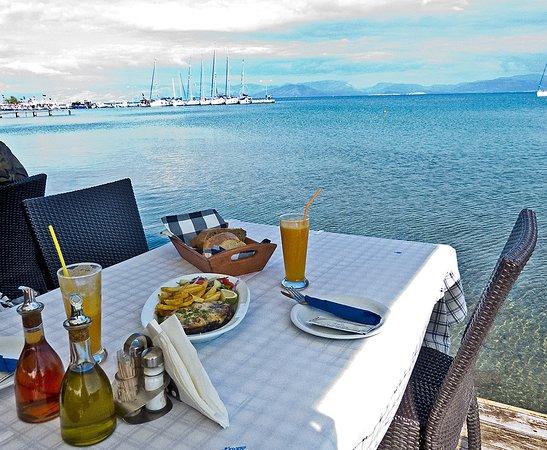 Super Ausblick, Limnopoula, Petritis, Korfu, Griechenland