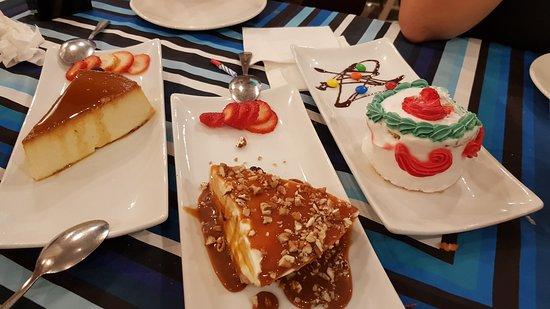 Los Arcos Restaurant: Desserts