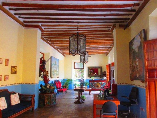 El Meson del Marques : The main lobby.