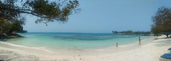 Isla Grande, Colombia: Linda praia!