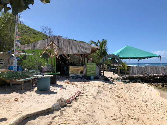 Mayreau: Food was good and fresh!