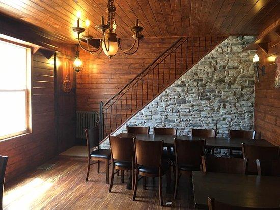 La Chope Gobeline : une des salles à manger