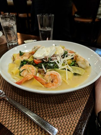 North Stonington, CT: Seafood dish