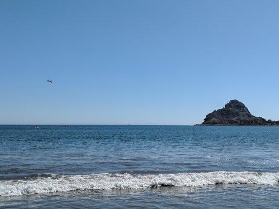Stone Island (Isla de las Piedras): water is a little cold!