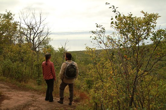Tofte, MN: Hiking along the Superior Hiking Trail