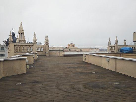 Terraza Picture Of Tryp Madrid Cibeles Hotel Tripadvisor