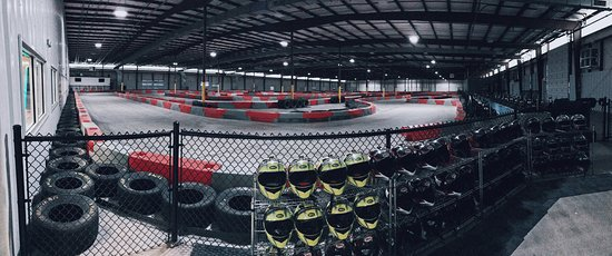 Duncan, SC: Lemans Karting Track View