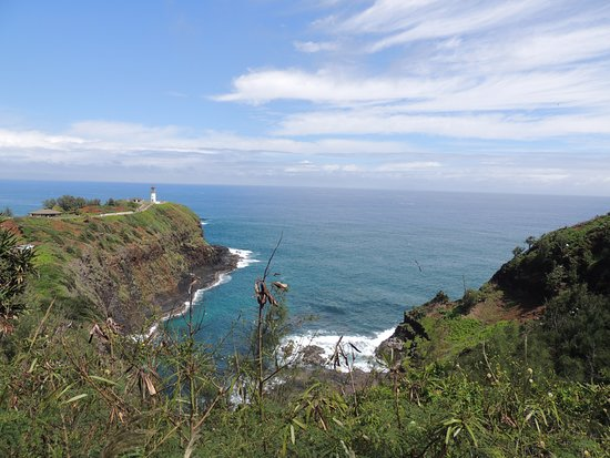Kilauea, هاواي: view from before the entrance gate