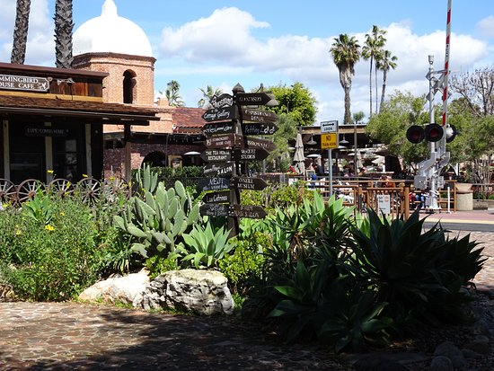 San Juan Capistrano, CA: Los Rios District is right across the tracks from the train station