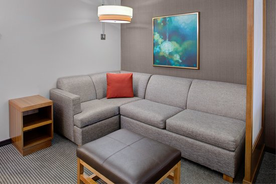 Surprising Cozy Corner Sleeper Sofa Picture Of Hyatt Place Dallas Andrewgaddart Wooden Chair Designs For Living Room Andrewgaddartcom