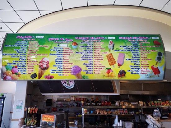 La Michoacana Paleteria Ice Cream Shop Picture Of La Michoacana