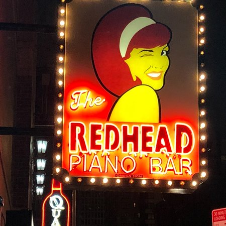 Think, that the redhead bar