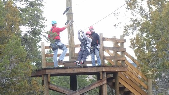 Royal Gorge Zip Line Tours : Just about to shove off