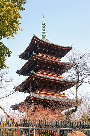 Kyu Kaneiji Five-Storied Pagoda